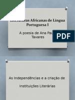 2019-Literatura no Pos-Independencia Angola-Ana Paula Tavares.pptx