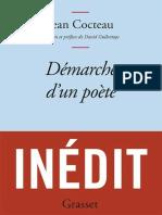 Cocteau, Jean - Demarche d un poete