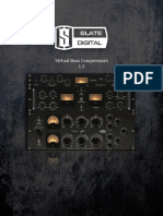 Slate Digital Virtual Buss Compressors Rack - User Guide