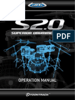 Superior Drummer Operation Manual