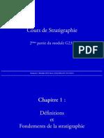 stratigraphie Cours Partie 1