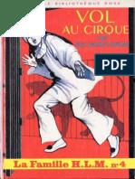 Famille H.L.M. 4 - Vol Au Cirque - Paul-Jacques Bonzon