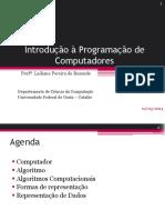 01. Introdução à Lógica de Programação