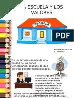 Cuento sobre la escuela y los valores.ppt