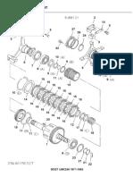 UMC240 marine gear input