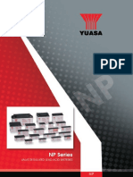 YUASA - Batterie serie NP