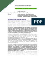 GRUPO MULTIDISCIPLINARIO DE CIRUGIA CRANEO FACIAL