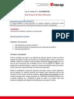Guía de trabajo N°2 Autogestión