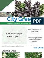 Urban Farms by CityGreens