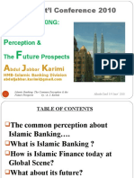 Islamic.banking-The Common Perception&Future Prospects by Karimi.k