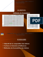 Méthode de Formulation Des Bétons
