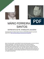 Mário Ferreira dos Santos - Entrevista ao Pe. Stanislavs Ladusãns (transcrição).pdf
