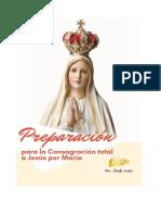 CONSAGRACIÓN A JESÚS POR MARÍA