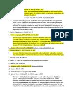 Case Compilation of importqnt jurisprudence