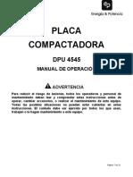 DPU 4545 (Manual de Operacion)