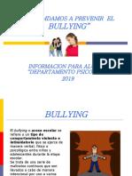 Bullying para alumno