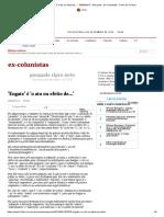 'Engate' é 'o Ato Ou Efeito de...' - 08-08-2013 - Pasquale - Ex-Colunistas - Folha de S.paulo