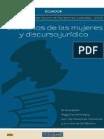 Derechos de las mujeres y discurso jurídico