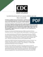 Announcement-New-ICD-code-for-coronavirus-3-18-2020