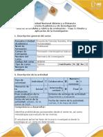 Guia de actividades y rubrica de evaluación - Fase 3 - Diseño y aplicación de la investigación (1).pdf