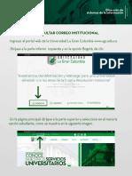 7. Ruta de Correo institucional
