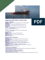 4000hp Straight Supply Vessel