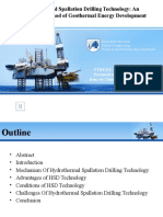 Hydrothermal Spallation Drilling Technology.pptx