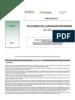 Diseño Curricular Ciclo Basico de la Educacion Secundaria Educación Física 2011.pdf
