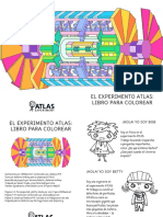 ATLAS Experiment Colouring Book in Spanish - A3