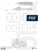 evaluación para circuitos eléctricos