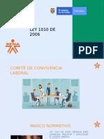 LEY 1010 COMITES DE CONVIVENCIA LABORAL