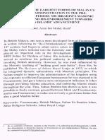Early History of Freemasonry in Malaya