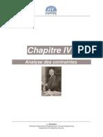 CHAP4 Analyse des contraintes