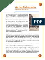 Historia del Baloncesto.