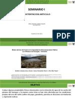 Aporte hídrico de suelos de páramo