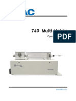 MultiTek 740 Manual Rev B