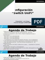 Configuraciones Switch UniFi 2019