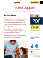 In Control Factsheet 29 Postural Care