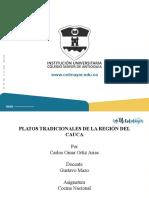 PLATOS TRADICIONALES DEL CAUCA