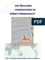 An Introduction to Direct Democracy