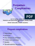 Postpartum Compications