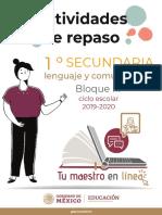Espanol1SecundariaBloque III v2
