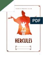 Hercules Musical FULL SCRIPT