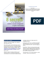 8 Secrets of Effective Records Management