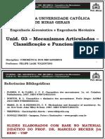 PUC_CINEMATICA_A03_ Cadeias_Cinematicas_Mecanismos_Articulados_2x1
