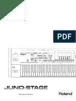 JUNO-STAGE MANUAL PDF