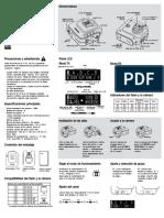 Cactus V6 II Quick Start Guide (ES)