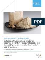 Evaluation of nutritional and functional properties of planta0for food.pdf