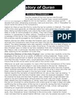 History of Quran rtf 1