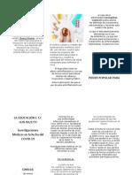 CIENCIAS NATURALES;PROF DESIRE URBANO